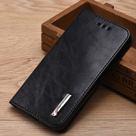 Good Taste Trends Luxury Flip Leather Quality Phone Back Cover Cfor Sony Xperia M2 Aqua D2403 D2303 D2305 D2306 S50H Case