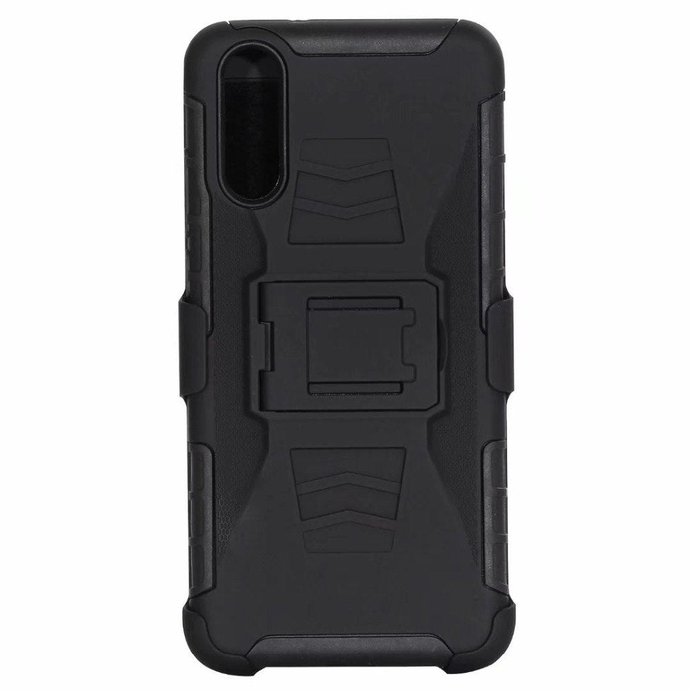 Heavy Duty Case For Huawei P20 Tough Armor For P20 Lite Hybrid 3 In 1 PC TPU Shockproof Kickstand Back Cover For P20 Pro Plus