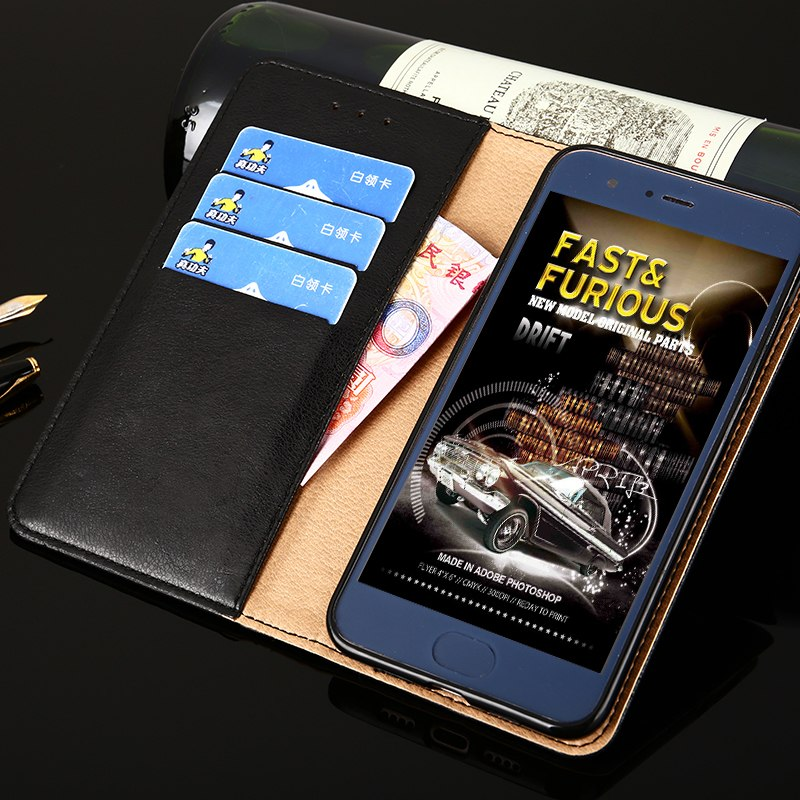 Huawei Nova 2 Case Bussiness Style High Quality Pu Leather And Silicone Back Cover For Huawei Nova 2 Plus Nova Mobile Phone Case
