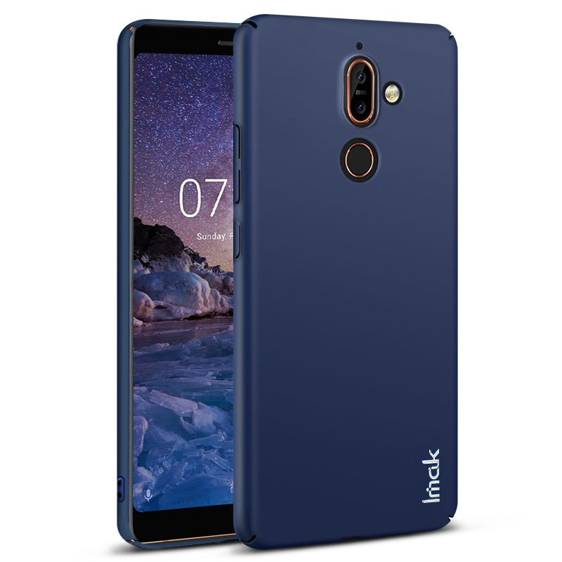 IMAK Jazz Case For Coque Nokia 7Plus Case Ultra Thin Slim Plastic Back Cover For Funda Nokia 7 Plus Case Nokia7 Plus Hard Armor