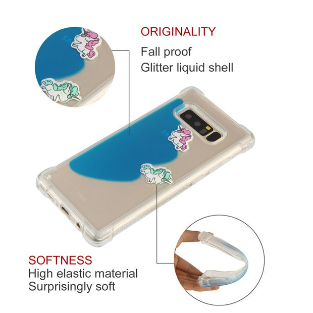 Liquid Antiknock Soft Cover Phone Silicon Case For Samsung Galaxy A3 A5 A7 2017 G530 J1 J3 310 710 J330 EU S7 Edge S8 Plus Note8