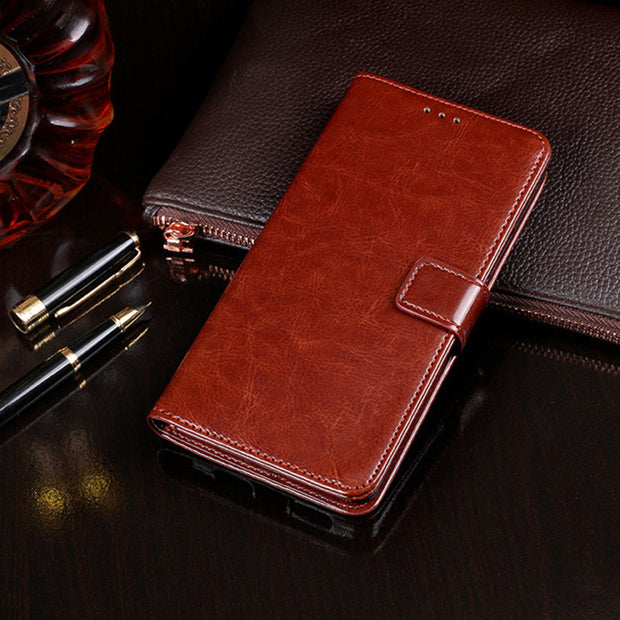 Luxury Coque Case For Blackview A20 Leather Cover Flip Wallet Case Card Slots Stand Phone Cases For Blackview A20 Cover 5.5 Inch