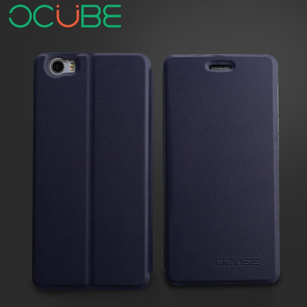 "Luxury Ocube Vernee Mars PRO Leather Case Protective Stand Flip PU Leather Cover Case For Vernee Mars PRO 5.5"" Smart Phone"