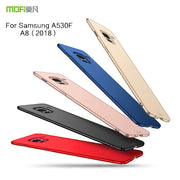 MOFi For Samsung Galaxy A8 2018 A530F A530 SM-A530F Phone Cases Ultra Thin Slim Cover Case Protective Back Shell