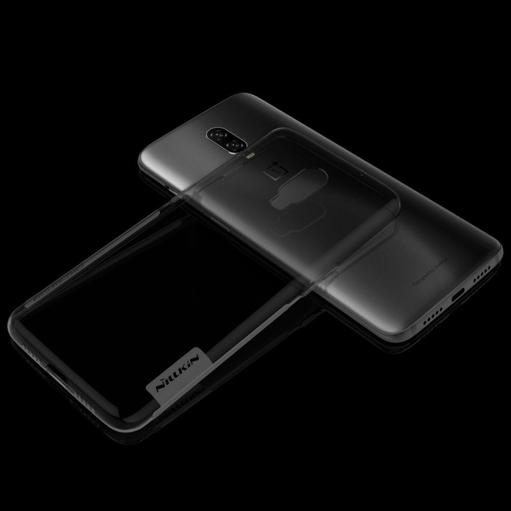 NILLKIN Nature TPU Case For Oneplus 6T Clear Silicon Soft TPU Case For One Plus 6t Transparent Phone Case For 1+6T OP6T A6013