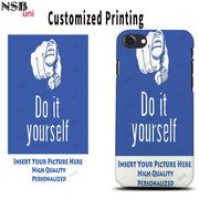 NSB Uni For IPhone 7/ 8 Personal Custom-made Sublimation Cases DIY Heat Transfer Mobile Phone Covers Shells Free Shipping
