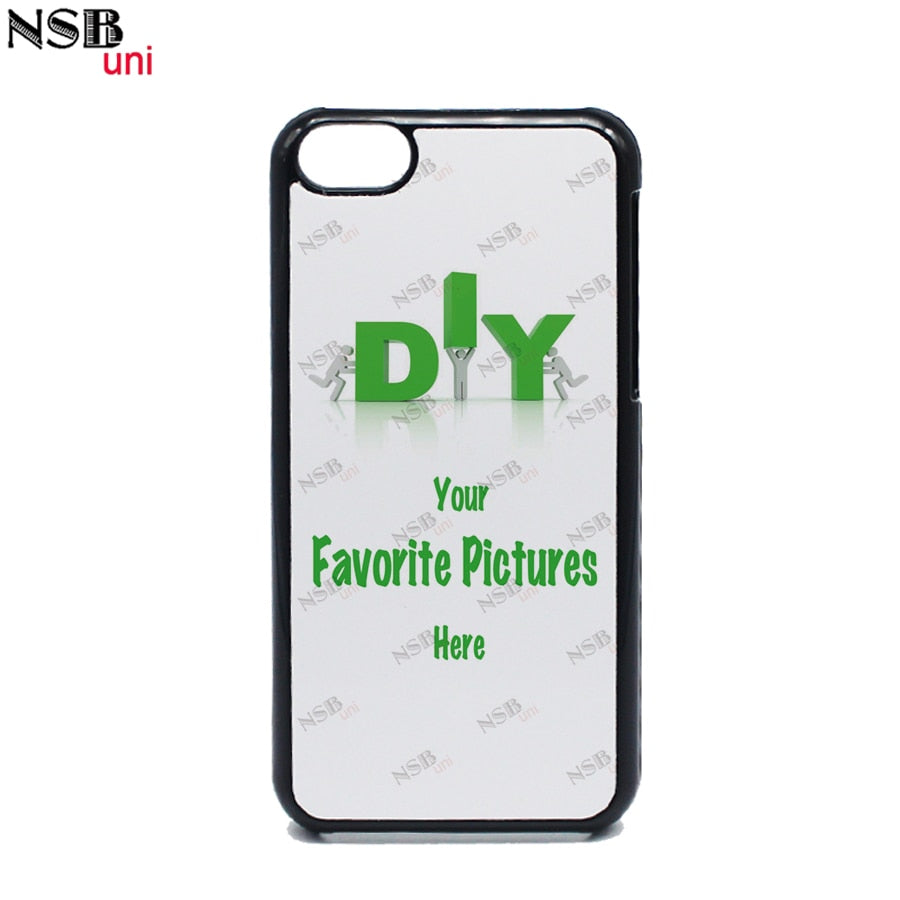 NSBuni For IPhone 5C Personalized High Quality Custom-made Sublimation Cases DIY Heat Transfer Mobile Phone Covers Shells