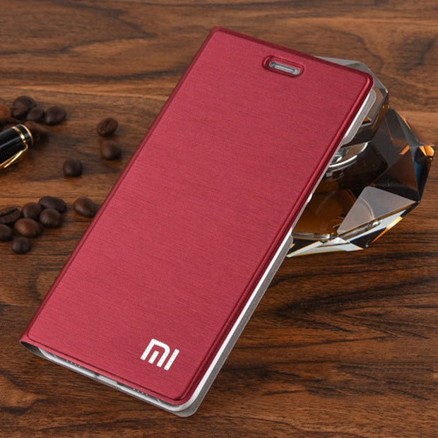 "New Arrive! For Xiaomi Redmi Note 5 Case Luxury Slim Style Flip Leather Case For Xiaomi Redmi Note 5 5.99"" Inch Kickstand Capas"