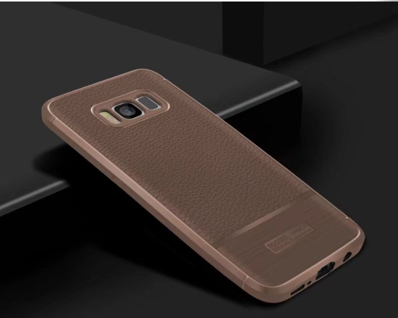 New Case For Samsung Galaxy S8 S8 Plus Case Luxury Soft Carbon Fiber Rugged Armor Shockproof Case For Samsung Galaxy Note 8
