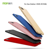Original MOFi Brand For Asus ZenFone 4 Max ZC554KL Case Silicone Scrub Cover Hard PC Back Cover For Asus ZC554KL Cases 5.5 Inch