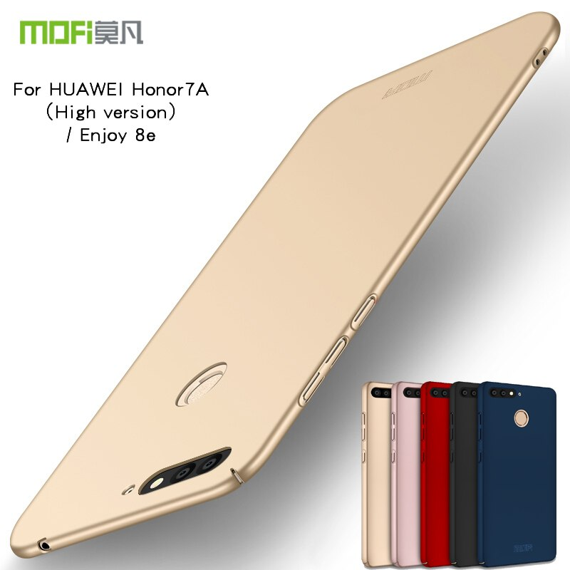 Original MOFi Brand For Huawei Honor 7A Pro Case Scrub Cover Hard PC Back Cover For Huawei Enjoy 8e Cases