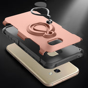 Phone Case For Samsung Galaxy A5 A3 A7 2017 J2 J5 Prime EU J5 Pro Cover Car Holder Stand Finger Ring G53 ON5 2016 J530 EU Case
