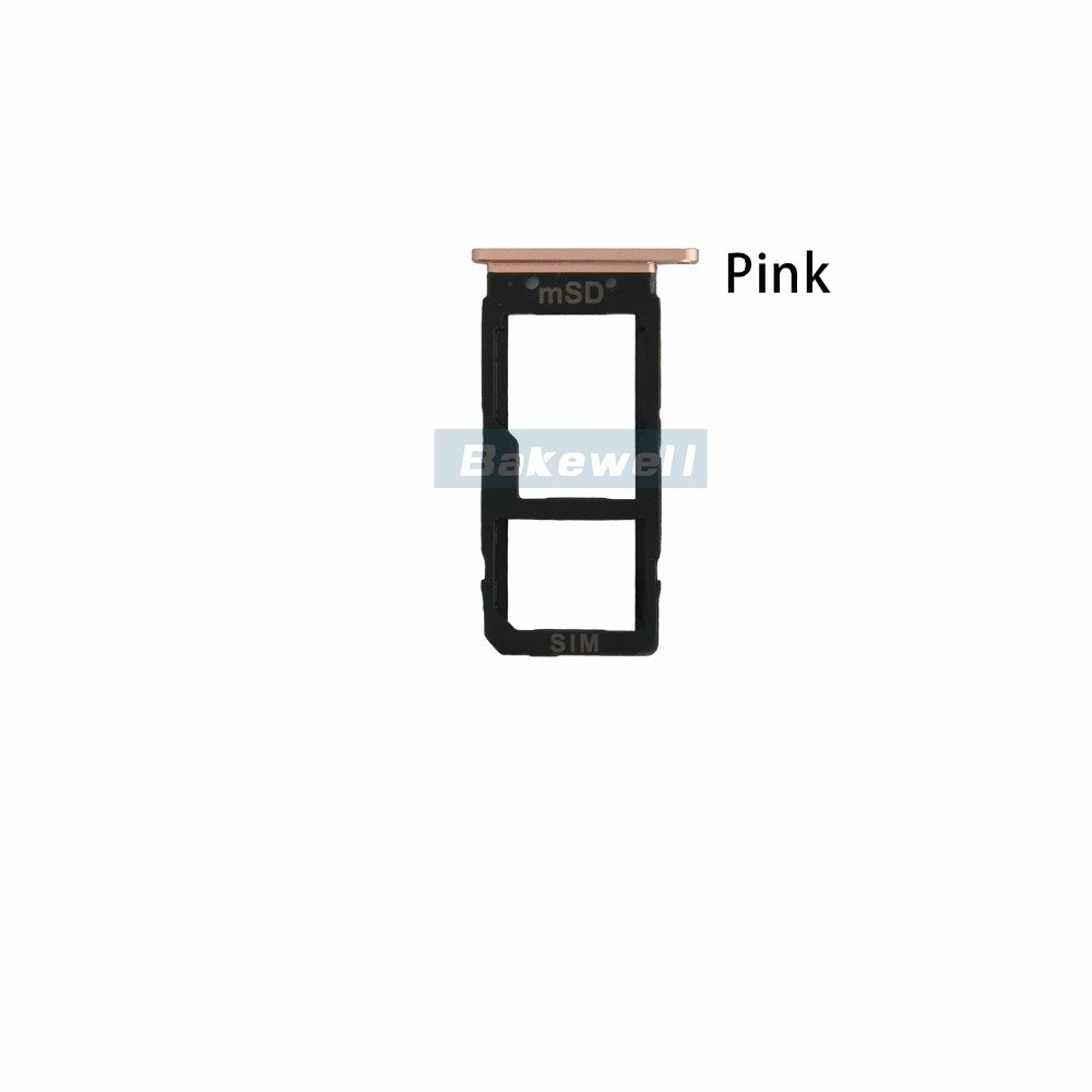 Sim Card Reader Holder Sim Tray Replacement For HTC U Ultra Black Silver Pink