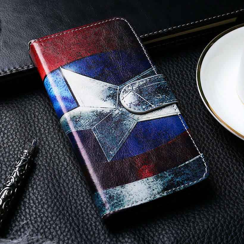 TAOYUNXI Flip Leather Case For Nokia XL X2 X+ X 1045 2 7 E1 7 A110 RM-980 1013 X2DS RM-1030 RM-1042 Wallet Case Painted PU Cover