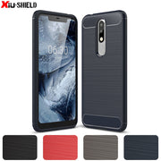 TPU Case For Nokia 5.1 PLUS X5 5.1+ TA-1105 TA-1108 TA-1120 Soft Silicone Case Phone Cover For Nokia5.1 PLUS TA 1105 10108 Case