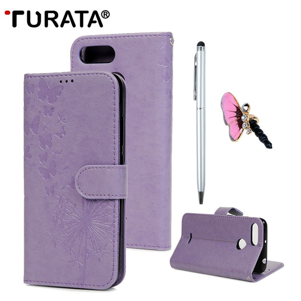TURATA PU Leather Case Cover For Xiaomi Redmi 6/6A Case Wallet Flip Magnetic Stand Phone Case For Xiaomi Redmi 6/6A