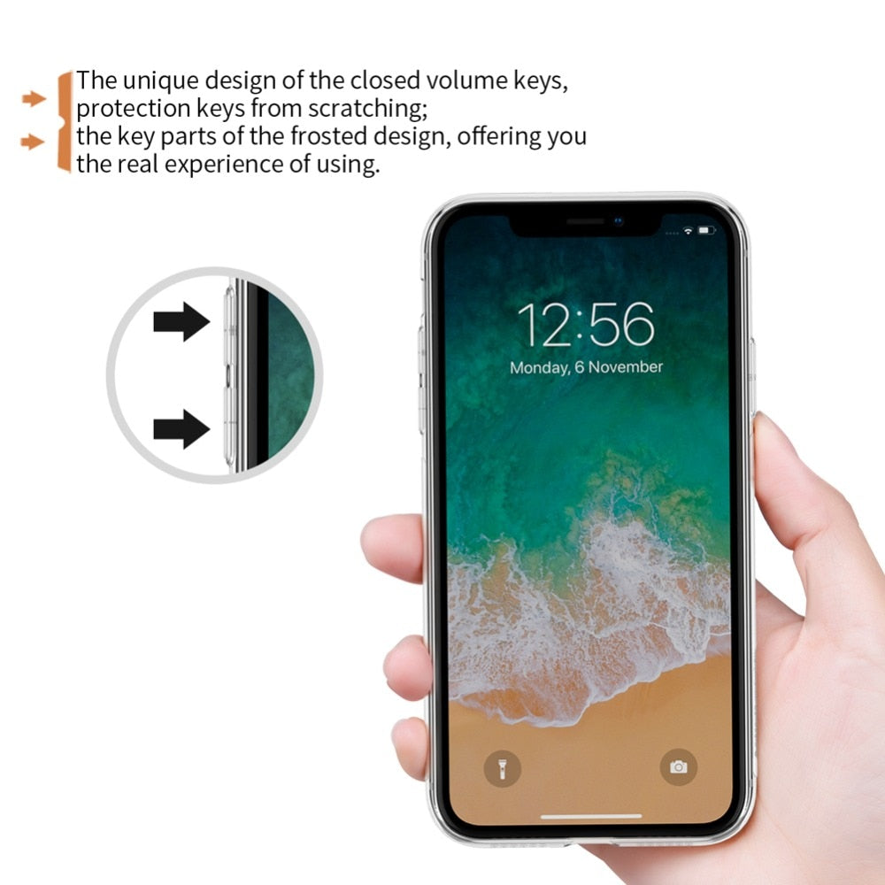 Tpu Case For IPhone XR Nillkin Nature Transparent Clear Soft Silicon TPU Protector Case Cover For IPhone XR 6.1