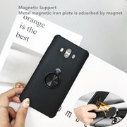 Ultra Thin Magnetic Car Holder Case For Huawei Mate 10 Case Finger Ring Phone Cover For Huawei Mate 10 Mate10 Pro Cover Capa