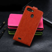 Vertical Flip PU Leather Case For Blackview A20 Pro Case 5.5 Inch Cover For Coque Blackview A20 Pro Flip Phone Cover Bags