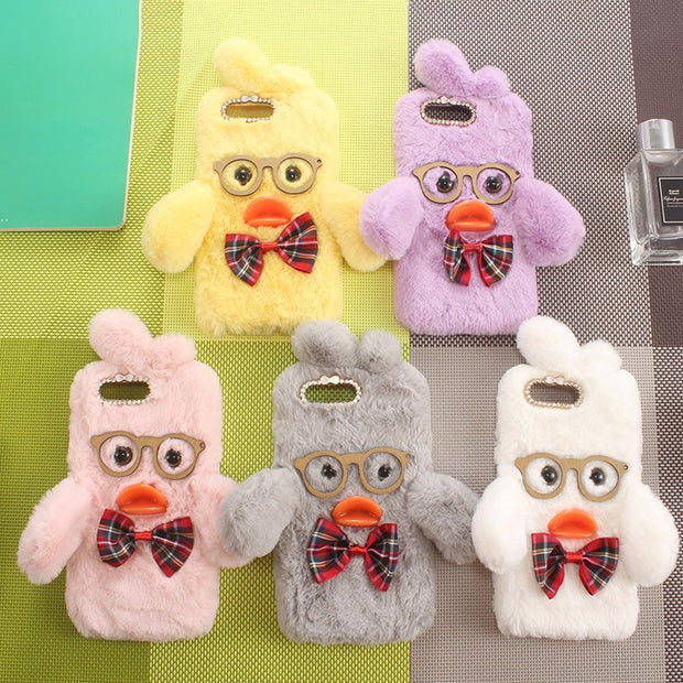 Winer Hairy Gift Duck Lovely Funny Style Protect Skin Phone Cover Case For  Gionee A1 F103 Pro F205 Gel Silicone Shell Etui