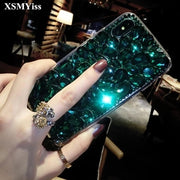 XSMYiss For Xiaomi 5s Plus 5X 6 Max MIX 2 3 Redmi Prime Luxury Glitter Back Cover Crystal Bling Diamond Rhinestone Phone Case