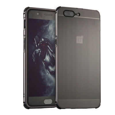 "YeeSite For OnePlus 5 Case Shockproof Aluminum Frame Hard PC Protection Shell For OnePlus 5 Cover 5.5"" Luxury Mobile Phone Case"
