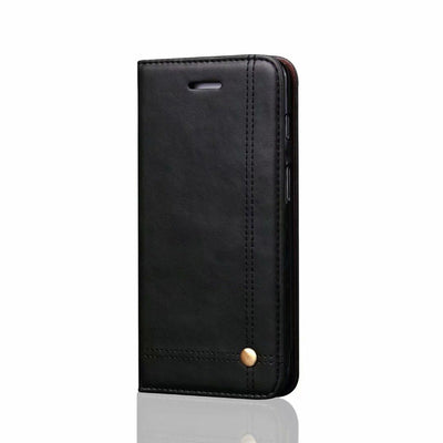YeeSite Vintage Wallet Phone Case For Oneplus 6 Luxury PU Leather Flip Cover Card Slots Holder Stand Mobile Phone Bag Cases