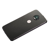 ZEALLION For Motorola Moto Z2 Force Luxury Plating Aluminum Metal Frame + Carbon Fiber Hard PC Shockproof Back Cover