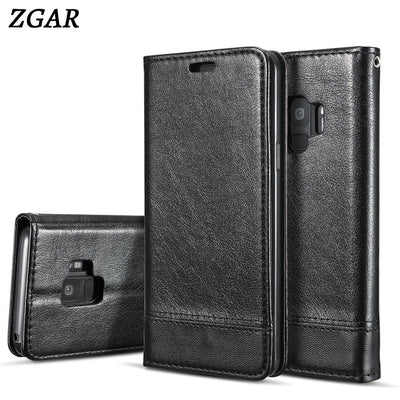 ZGAR Case For Samsung Galaxy S9 S9+ S8 Plus S7 Edge Note 8 Magnetic Covers Phone Bags Cases For IPhone X 8 7 6 6S Plus 5S 5 SE