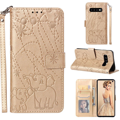 ZRICKIE For Samsung Galaxy S10 Case Cute Animal Patterned Wallet Flip PU Leather Case For Samsung Galaxy S10 Plus/S10 Lite Cover