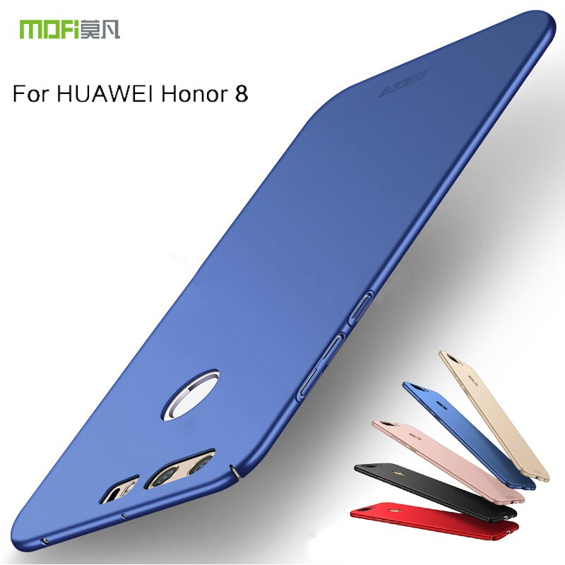 For Huawei Honor 8 Case Cover Huawei Honor8 Back Cover Hard Protective Phone Capas MOFi Original Huawei Honor 8 Cases And Covers