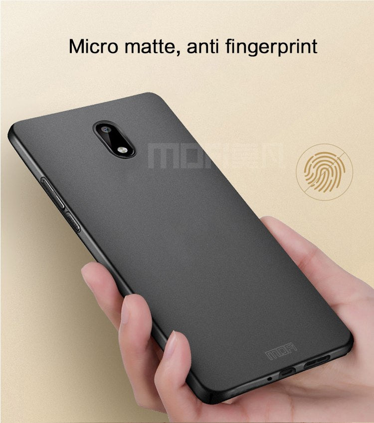 For Nokia 3 Case Original 5.0 Inch MOFi For Nokia3 Case Cover Back Protection Black Phone Protective Capas For Nokia 3 Hard Case