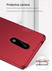 For Nokia 5 Case Original MOFi Brand 360 Degree Full Cover Luxury PC Protective Back Cover Case For Nokia5 (5.2 Inch)