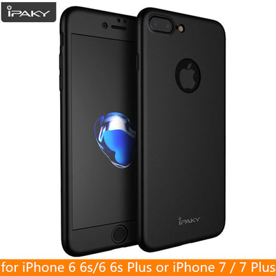 For IPhone 7 Case Original IPAKY Brand Full Cover Case For IPhone 6 6s Plus Protective Full Body Cover For IPhone 8 8 Plus Case