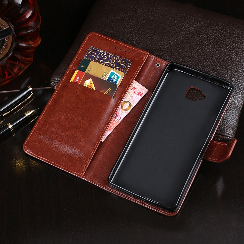 ITien Leather Protect Cover Case For Asus Zenfone 4 Max ZC554KL Pro ZS551KL Selfie ZB553KL TPU Silicone Shell Wallet Etui Skin