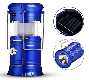Collapsible LED Solar Camping Tent Light For Outdoors - E-Topia, Sales on now!