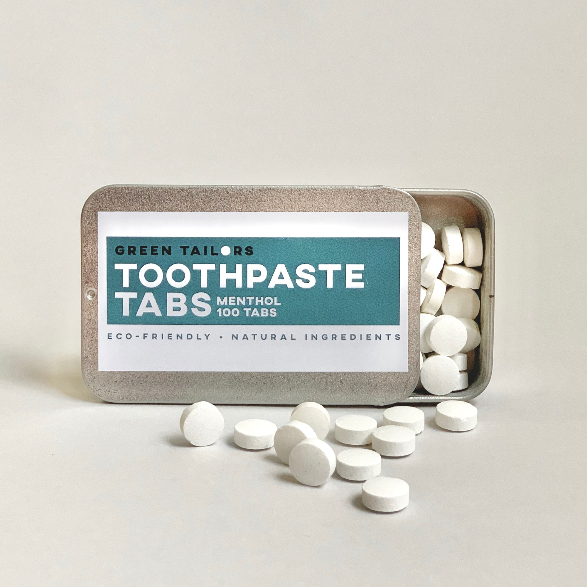 Toothpaste tabs: it's just like toothpaste, but without waste!