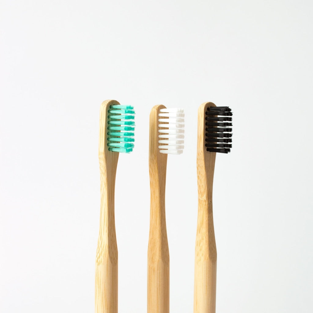Bamboo Toothbrush | Adult White Soft Bristles
