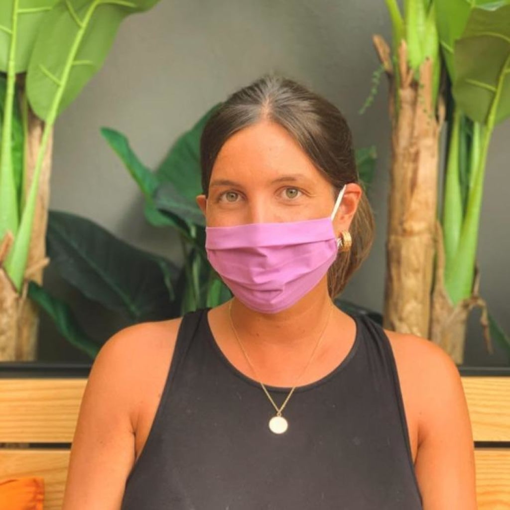 Reusable Face Masks | Happy Purple Summer Limited Edition