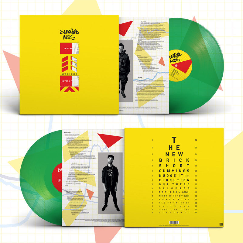 Sleaford Mods - Spare Ribs - Limited Green Vinyl