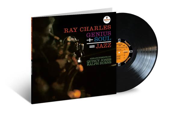 Ray Charles - Genius + Soul = Jazz:  Acoustic Sounds Audiophile Edition- Preorder