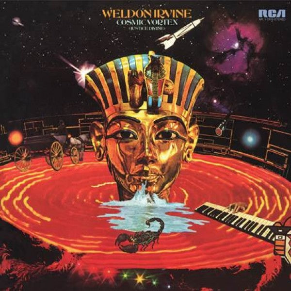 Weldon Irvine - Cosmic Vortex - Pure Pleasure audiophile
