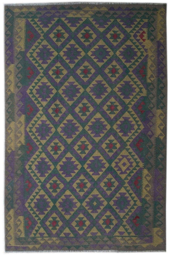 Handmade Safar Collection Kilim | 292 x 196 cm - Najaf Rugs & Textile