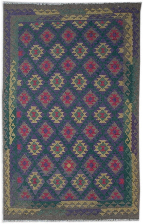 Handmade Safar Collection Kilim | 305 x 202 cm - Najaf Rugs & Textile