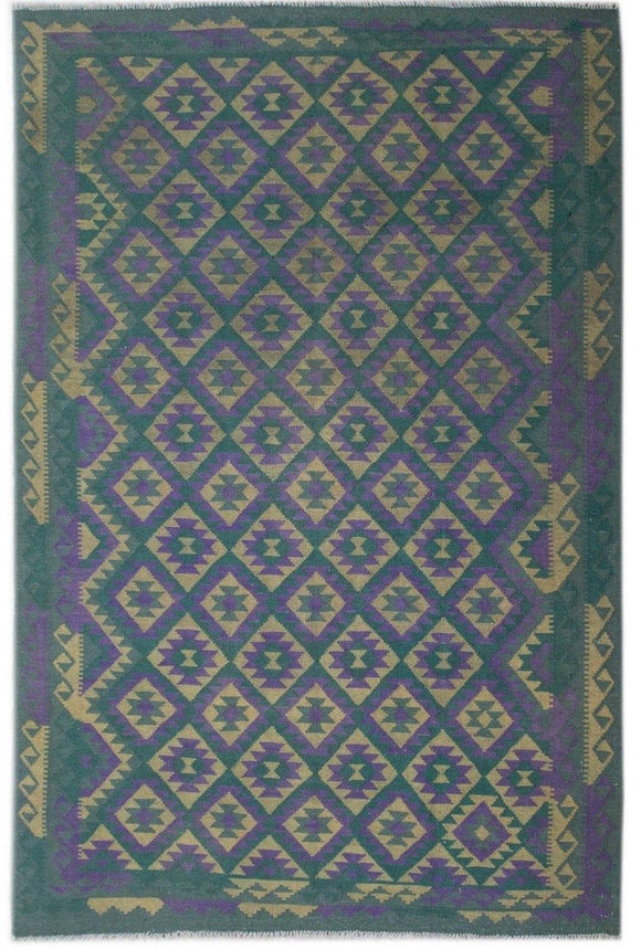 Handmade Safar Collection Kilim | 293 x 203 cm - Najaf Rugs & Textile