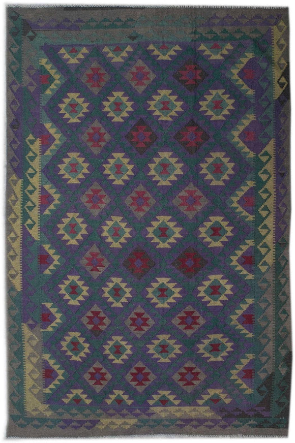 Handmade Safar Collection Kilim | 305 x 208 cm - Najaf Rugs & Textile
