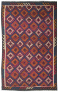 Handmade Safar Collection Kilim | 302 x 198 cm - Najaf Rugs & Textile