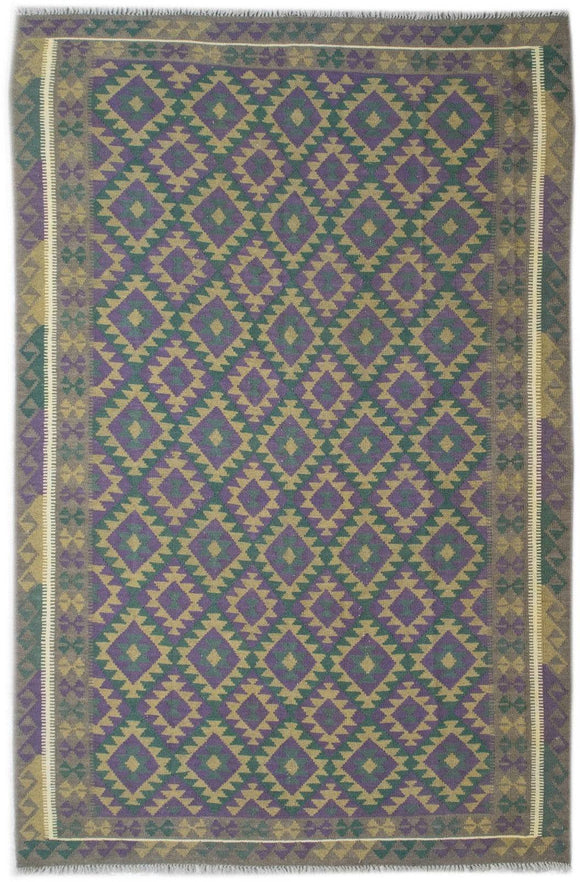 Handmade Safar Collection Kilim | 304 x 213 cm - Najaf Rugs & Textile