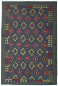 Handmade Safar Collection Kilim | 293 x 213 cm - Najaf Rugs & Textile
