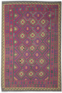 Handmade Safar Collection Kilim | 295 x 207 cm - Najaf Rugs & Textile